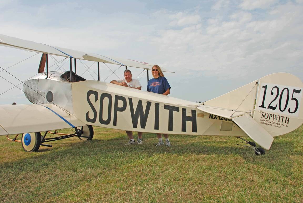 The Sopwith Tabloid Project Maiden Flight • Bob Punch –