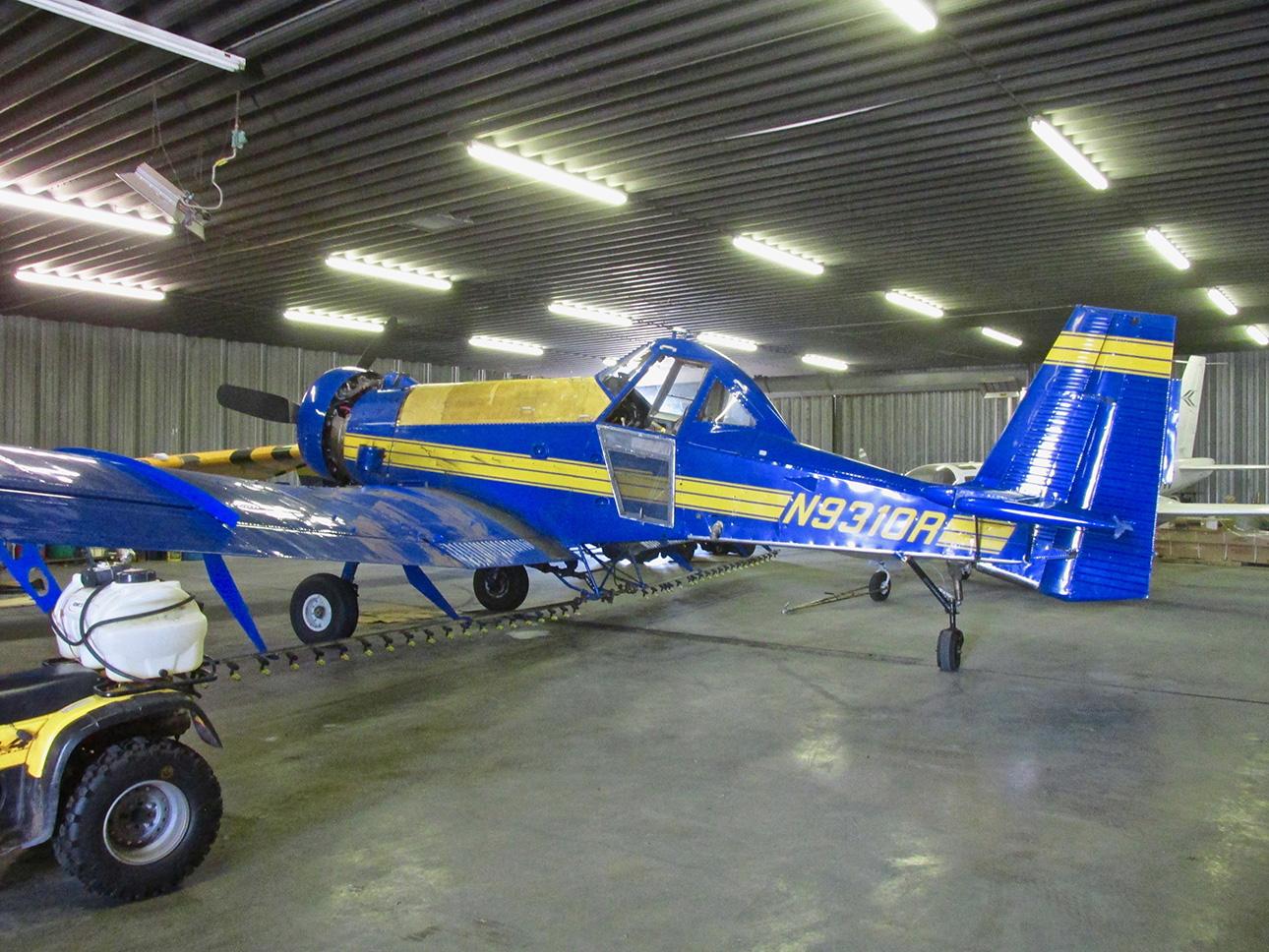 Air Tractor Crop Duster Airplane Oval Vinyl Decal Indoor Outdoor
